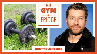 Brett Eldredge Shows His Gym & Fridge on Tour | Gym and Fridge | Men's Health