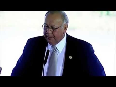 U.S. Marshals Museum Groundbreaking Ceremony: Principal Chief George Tiger