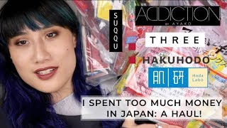 (Kind of) Massive Japan Haul: High-end + Drugstore Makeup & Skincare