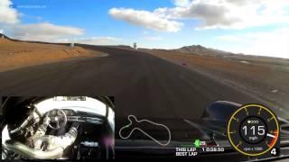 Willow Springs Porsche 911 lap: 1:26.88