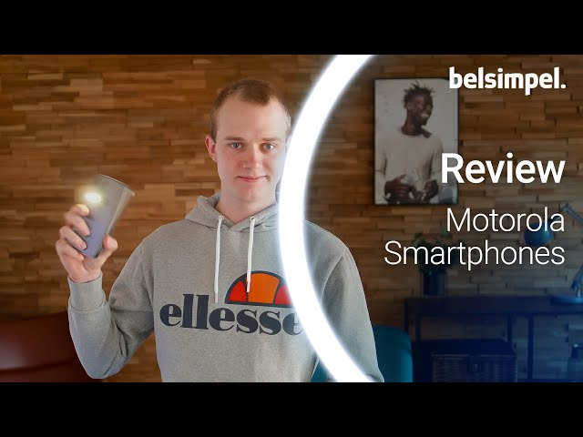 Belsimpel-productvideo voor de Motorola Moto G8 Power Lite Dark Blue