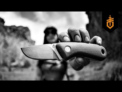 Gerber Vertebrae Fixed Blade Knife (Sage)