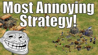 AoE2 - The Most Annoying Strategy!? Episode Four! Team Douching!