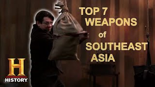 Forged in Fire: TOP 7 WEAPONS OF SOUTHEAST ASIA | History
