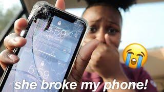 She Broke My New IPhone XR ! 😥