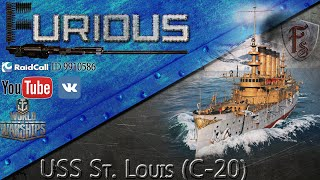 USS St. Louis. Толстячок-убийца.