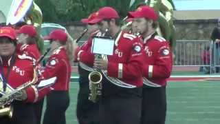 'Halftime Performance (10.31.15) - Pride of the Plains Marching Band
