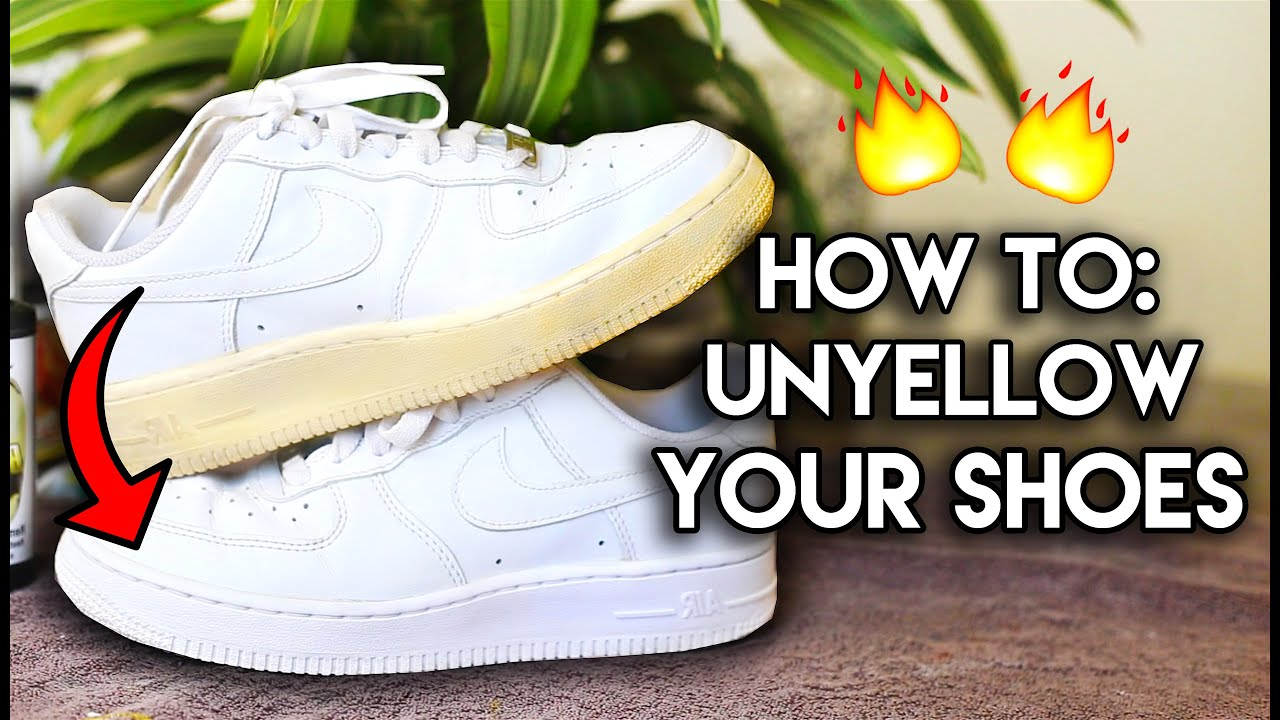 How To Clean Yellow Leather Shoes