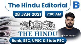 7:00 AM - The Hindu Editorial Analysis by Vishal Parihar   28 January 2021   The Hindu Analysis