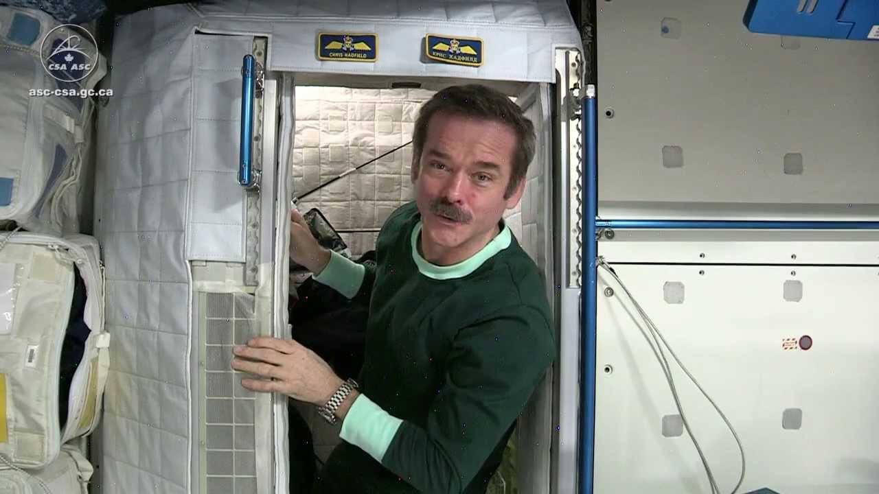 sleeping in space youtube