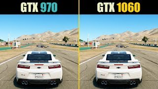 GTX 970 vs. GTX 1060 (Test in 9 Games)