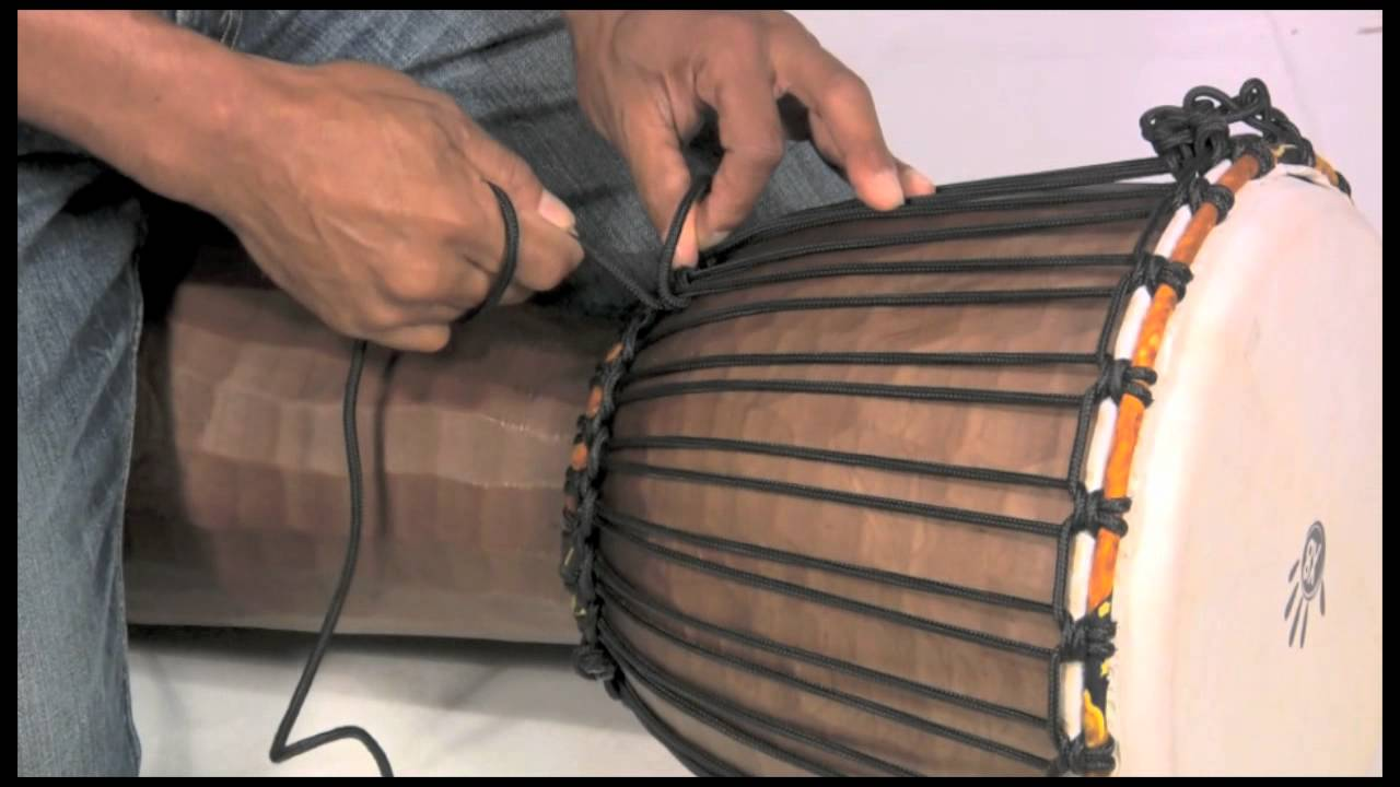 how to tune a djembe rope tuning instructions x8 drums. Black Bedroom Furniture Sets. Home Design Ideas