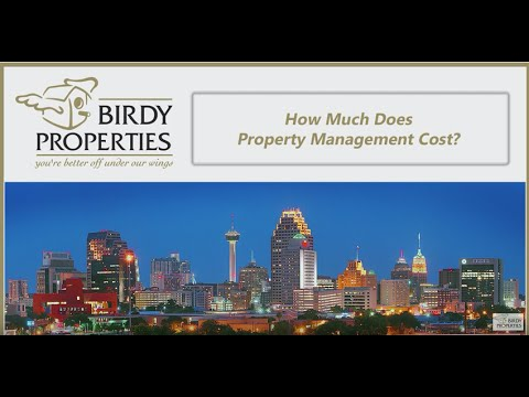 How Much Does Property Management Cost in San Antonio, TX?