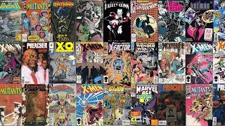 101 Comic Books Worth $20 or More That Are Easy To Find At Garage Sales Dollar Bins and Flea Markets