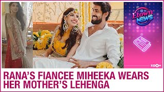Miheeka Bajaj's mother could not stop crying due to this r..