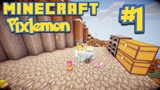 Minecraft Pixelmon! #1 | THE BEGINNING
