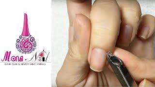 Học sơn móng tay đẹp - Hướng dẫn cắt da và cách sơn móng tay đơn giản cho người học làm Nail