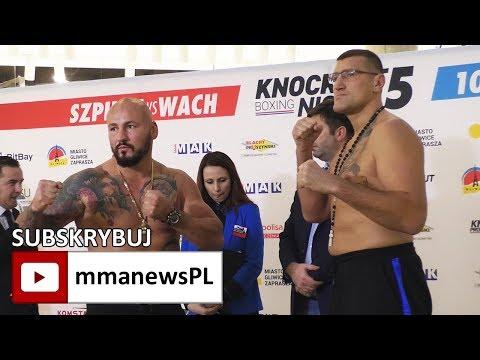 Szpilka vs Wach twarzą w twarz na ważeniu przed galą w Gliwicach