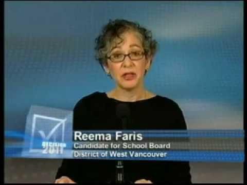 Reema Faris - West Vancouver School Board Trustee Candidate Interview