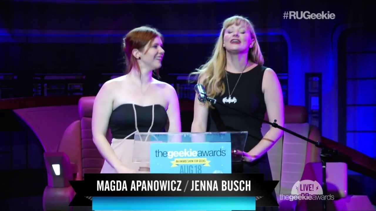 The Geekie Awards 2013: COLONUS Wins 'Best Comic Book' with Magda Apanowicz, Jenna Busch