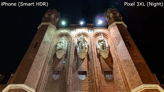 iPhone XS Max vs Pixel 3 XL. Фото часть сравнения камер.