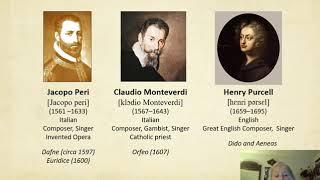Part 3 Lecture  Baroque Era 1