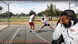 When Hoopers Play w/ HOOPER HOOPERS LOL! King Of The Court vs FLIGHT REACTS & D1 Point Guard!