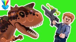 Kicsomi - ⚽Csocsó⚽: 🎁 LEGO Jurassic World - Carnotaurus menekülés a guruló gömbben 😱
