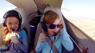 Pilot Dads Flying Daughters to DisneyLand in DA42 + Engine Failure Training - FLIGHT VLOG