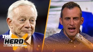 Jerry Jones views Ezekiel Elliott as 'ungrateful' — Doug Gottlieb | NFL | THE HERD