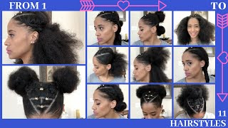 How to Style Natural Hair: 11 Easy Styles