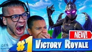 MINDOFREZ EXPOSED!!! *NEW* RAVAGE SKIN! HE GET CARRIED BY 10 YEAR OLD BROTHER FORTNITE BATTLE ROYALE