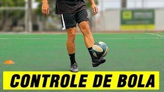 10  EXERCÍCIOS DE CONTROLE DE BOLA | TREINO TÉCNICO COM BOLA | MELHORE SUA TÉCNICA NO FUTEBOL