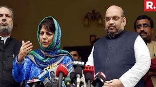 BJP ends alliance with PDP in Jammu & Kashmir..