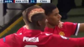 Manchester United vs CSKA Moscow 2-1 UEFA Champions League 2017  All Goals & Highlights