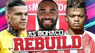 REBUILDING AS MONACO!!! FIFA 19 Career Mode
