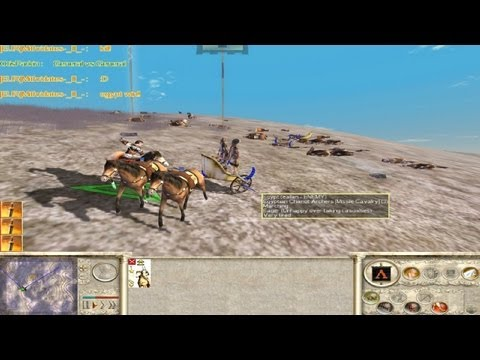 Rome Total War Online Battle #2067: One Unit FFA (live-commentary)