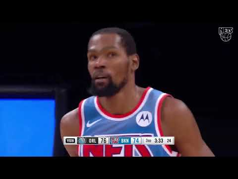 Kevin Durant 凱文杜蘭特 42 分  籃網vs魔術
