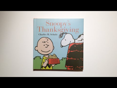 Snoopy's Thanksgiving by Charles M. Schulz - video preview