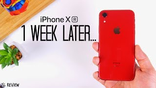 1 Week Later...is the iPhone XR worth it?? - iPhone XR Review