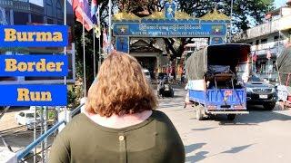 Forced To Leave Thailand  | Mae Sai, Thailand Travel Vlog