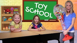 FAKE Toy School ~ Crazy Candy Day + PRANK Toys R Us Worker