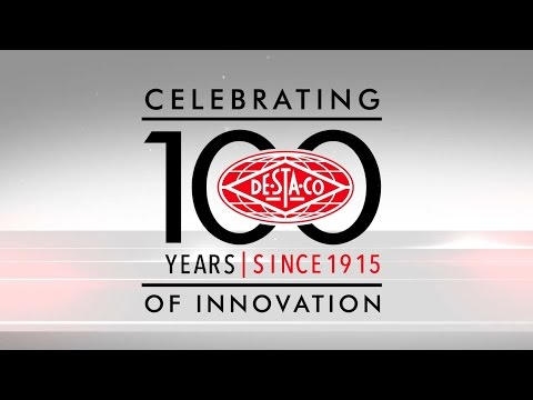 DE-STA-CO Celebrating 100 Years of Innovation