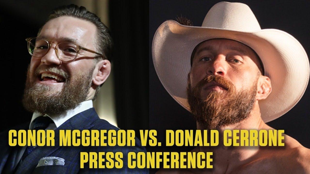 Ufc 246 Conor Mcgregor Donald Cerrone Turn On Reporter