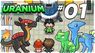 Let's Play Pokémon: Uranium - Part 1 - Off We Go!