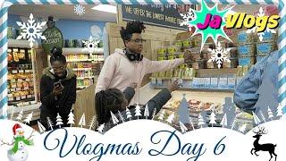 I HATE GROCERY SHOPPING | VLOGMAS DAY 6 | 2016 | JaVlogs