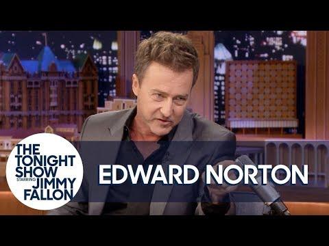 Edward Norton Does His Impression of Alec Baldwin's Method Acting