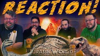 Jurassic World: Fallen Kingdom - Official Trailer #2 REACTION!!