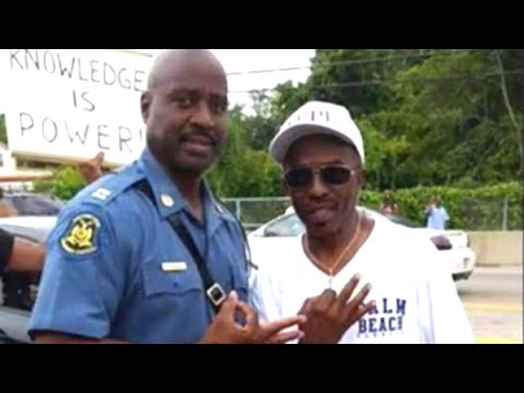 Racists Gang Up On Captain Ron Johnson Over Hand Signs