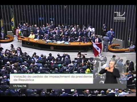 Acompanhe ao vivo a sessão do impeachment na Câmara